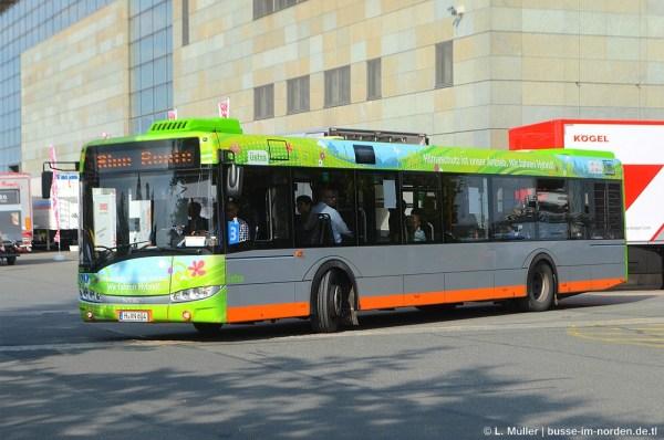 Фото: Германия, Solaris Urbino III 12 Hybrid № 7604 ...