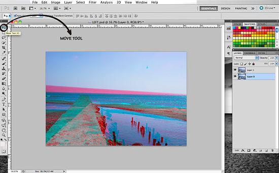 Как Сделать 3д Картинку В Фотошопе