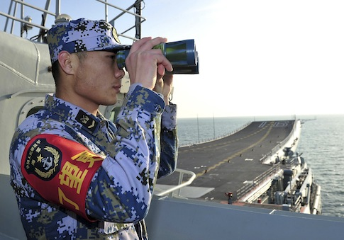 Chinese People's Liberation Army (PLA) sailor / AP