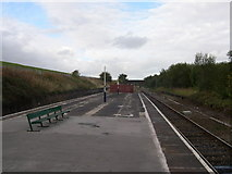 SJ9195 : Denton Railway Station by Eifion Bedford