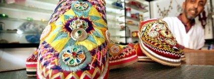 idoukan_449145816 إدوكان .. النعل الأمازيغي الذي تعايش مع اللباس العصري والتقليدي تقاليد
