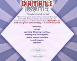 WRite a Diamante Poem
