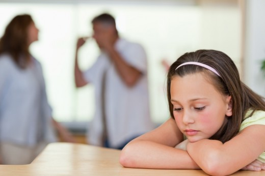 When a kid experiences parents fighting all the time it can create deep emotional problems to the child that can truly affect them in a negative way.
