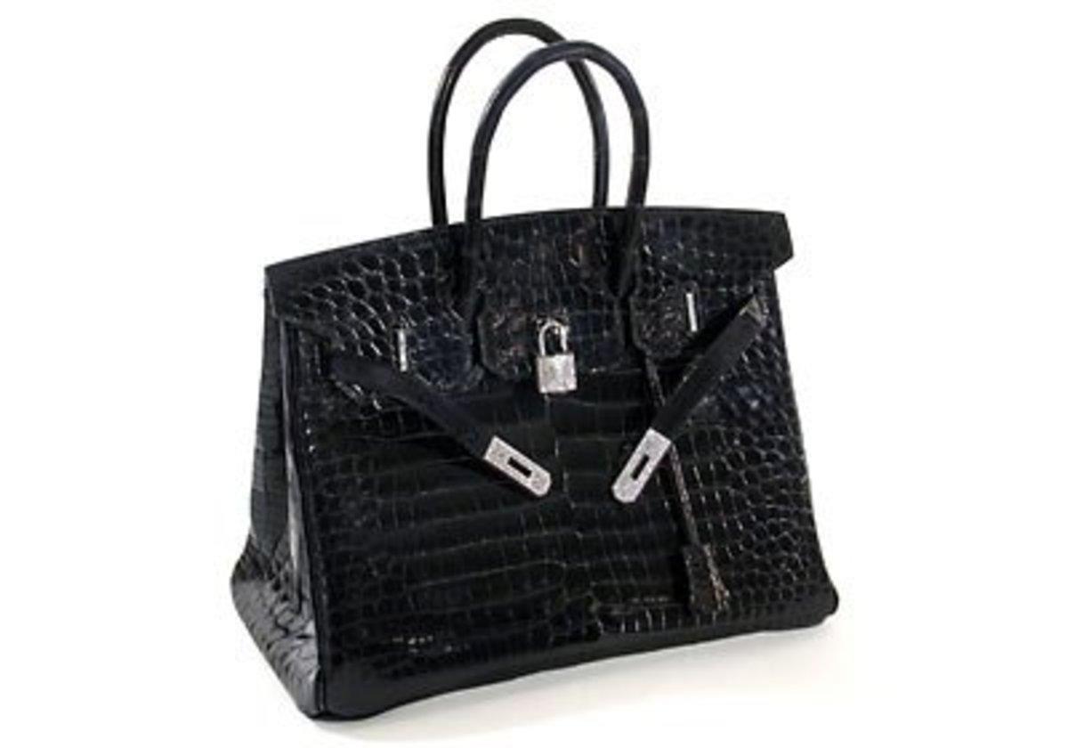 Hermes Birkin Crocodile Bag