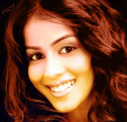 beautiful Genelia