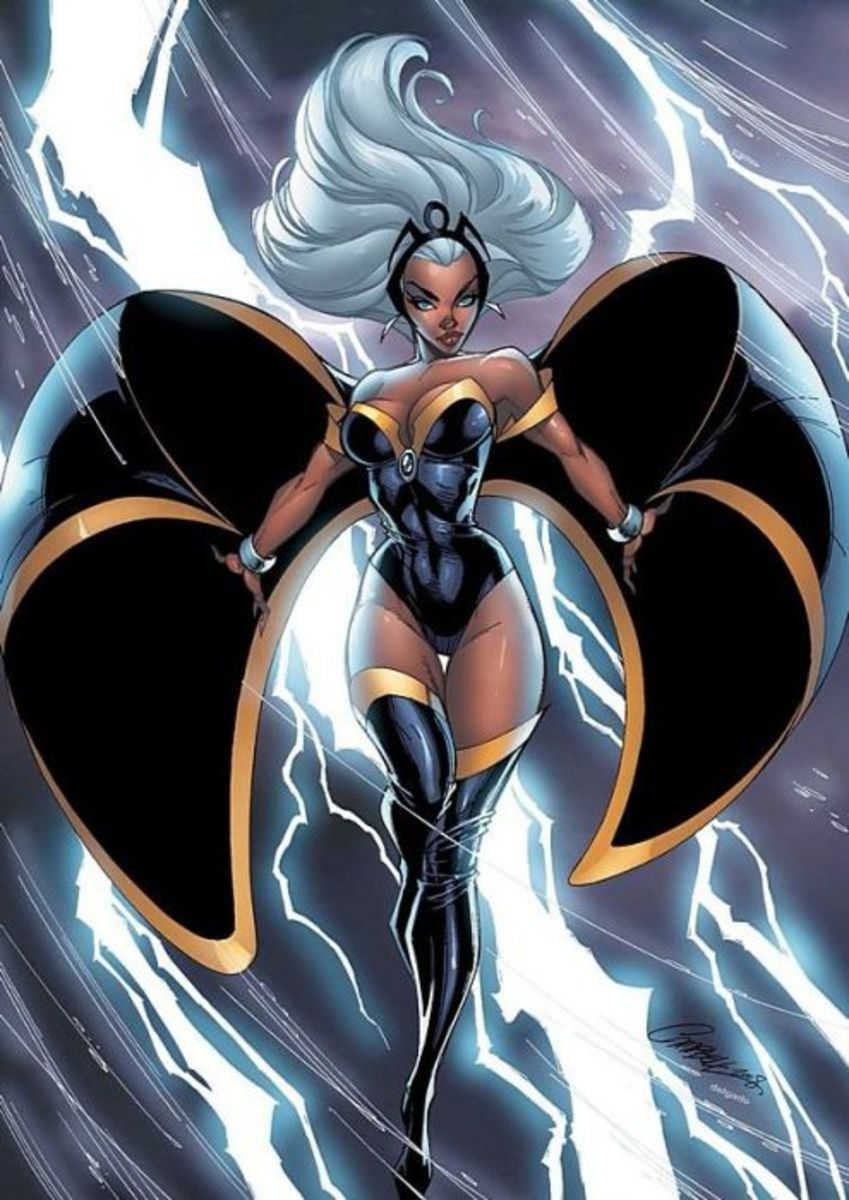 Storm by J.Scott Campbell