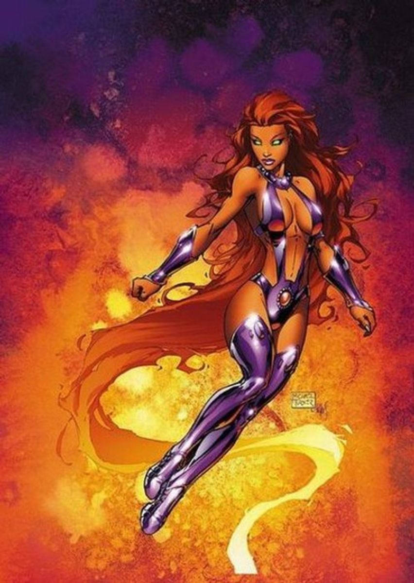Starfire by Michael Turner