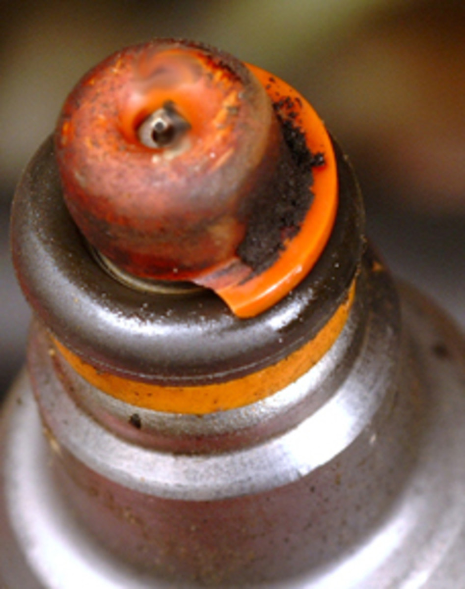 Fuel injection cleaner, also known as fuel injector cleaner helps clean dirty parts like this.