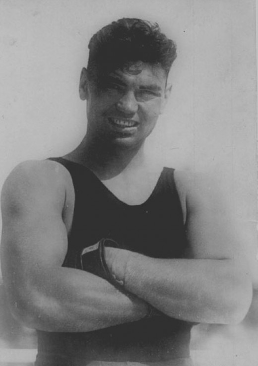 Number Five Boxer of all time - Jack Dempsey