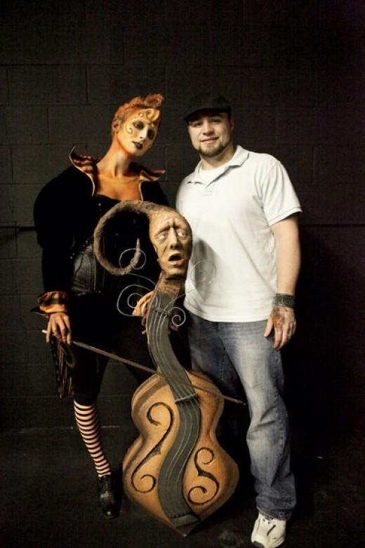 Bryce & his Tim Burton Whimsical creation
