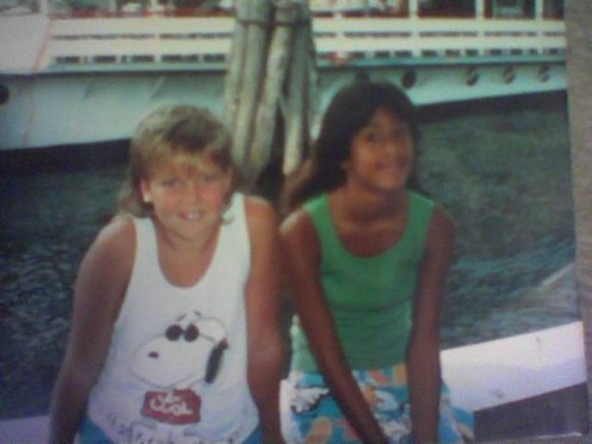 I'm the one on the Right! I know I was either in 5th or 6th grade or Jr. High School