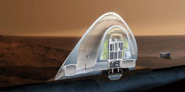 Mars Ice House: A 3D-Printed Igloo Bags First Prize In ...
