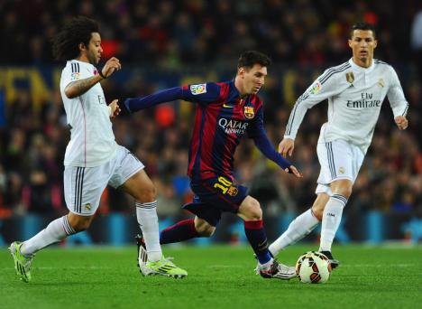 Image result for I wanted Ronaldo to stay at Real Madrid - Messi