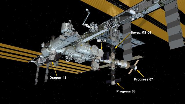 ISS Spacecraft Configuration