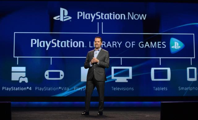 PlayStation Now Andrew House
