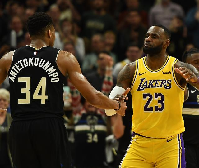 Nba Rumors Giannis Antetokounmpo Reacts To Himself In Lakers
