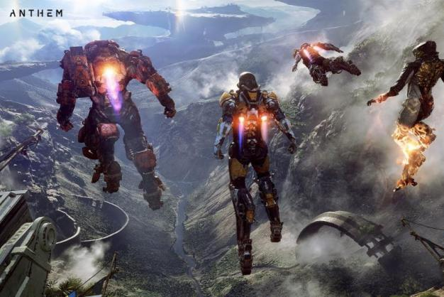 Image result for anthem gameplay