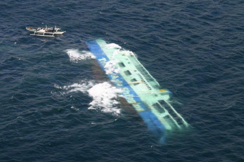 Cargo Ship Sinks Off Philippines All Passengers Rescued