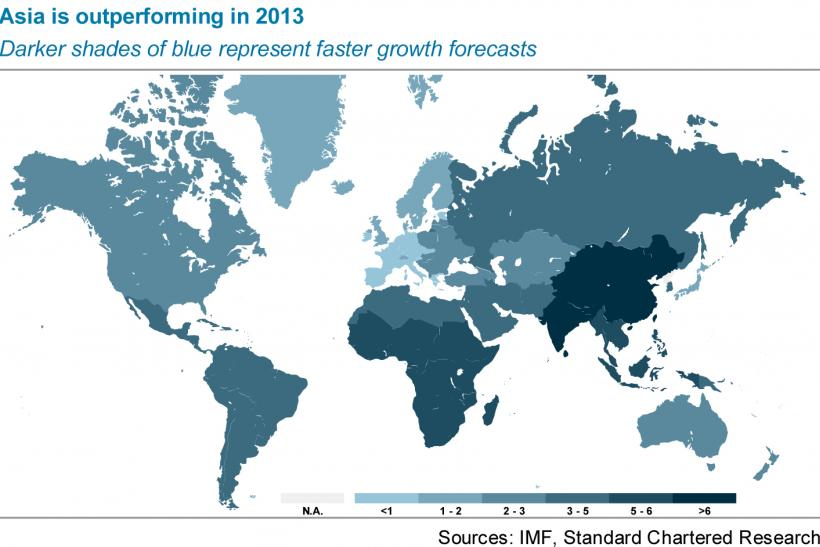 Asian Economies To Outperform In 2013; ASEAN Countries' GDP Growth In The Spotlight (1/2)