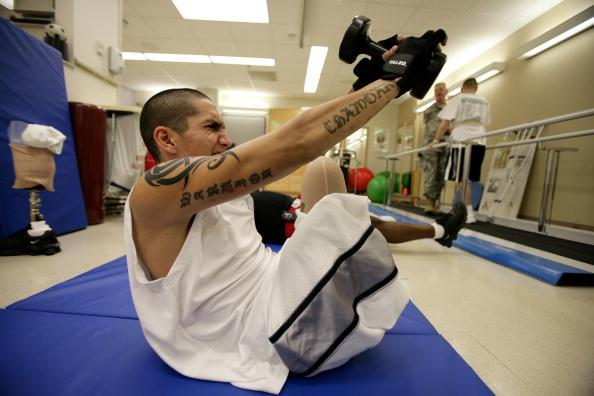 US Veteran Disabled Texas Getty Image