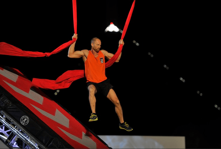 Brian Arnold, one of his favorite American Ninja Warriors