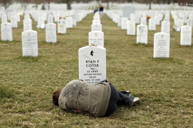 US army tombstones
