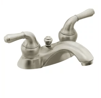 double handle centerset bathroom faucet