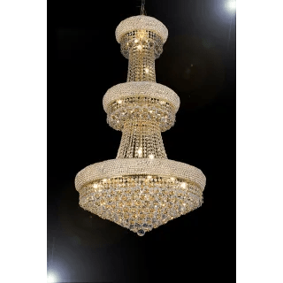 crystal chandelier tiered # 71