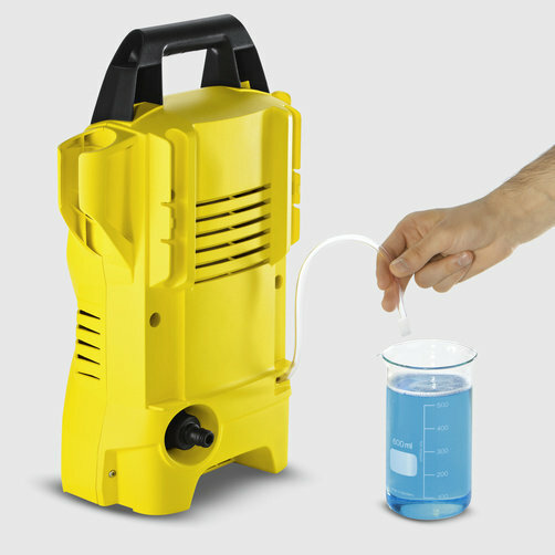 High pressure washer K 2 Compact: Full cleaning power