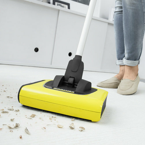 Cordless electric broom KB 5: Kärcher Adaptive Cleaning System