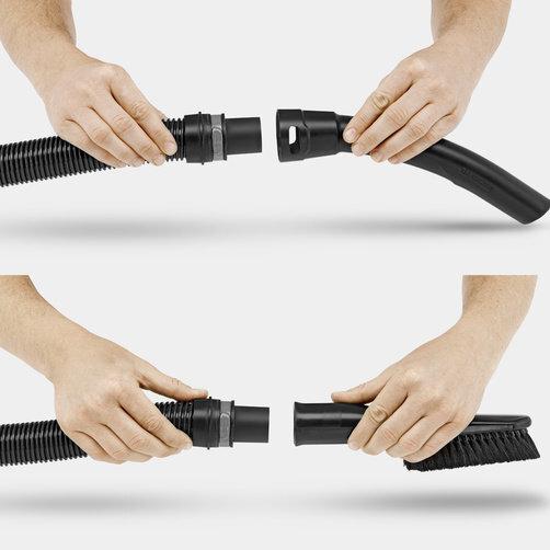 Multi-purpose vacuum cleaner WD 3 *EU-I: Removable handle