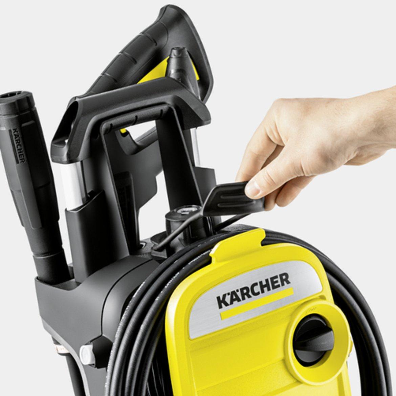 K 5 Compact: Концепция за съхранение на маркуча за високо налягане