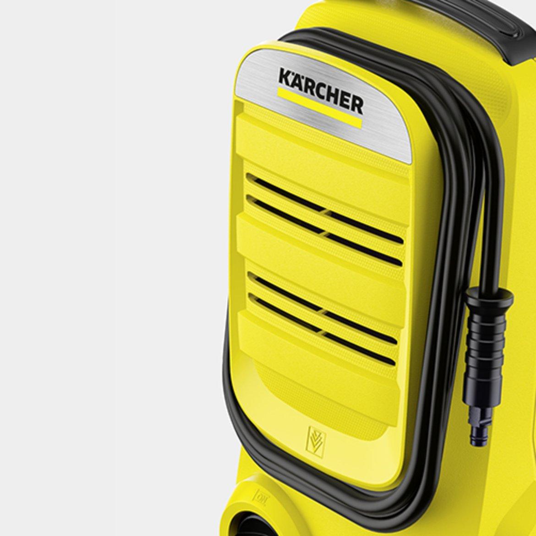 K 2 Compact: Съхранение на маркуча на предния капак