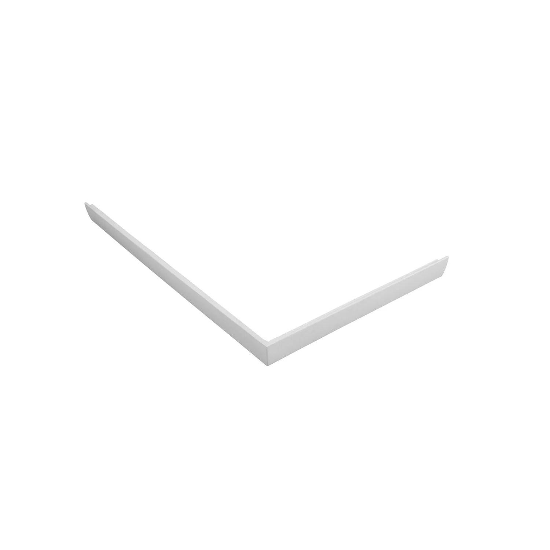 Tablier Pour Receveur L100 X L80 Cm Acrylique Blanc