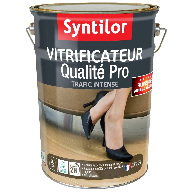 Vitrificateur Parquet Ultra Rsistant SYNTILOR 5 L Chne