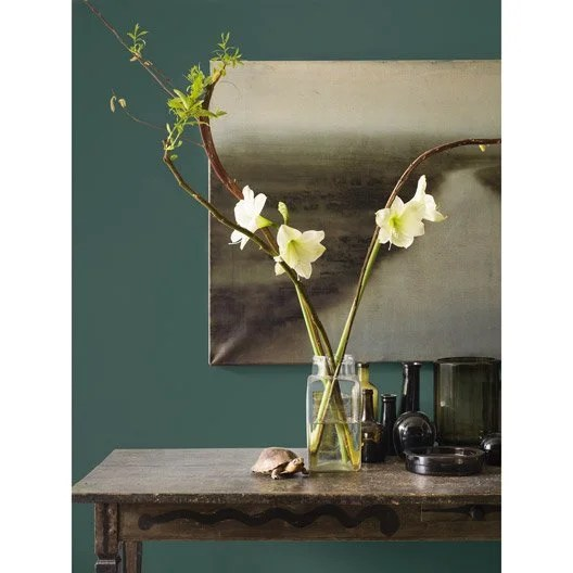 Peinture Bleu Eucalyptus Mat DULUX VALENTINE Crme De