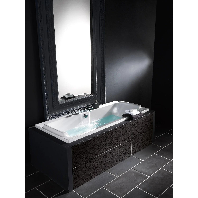 baignoire rectangulaire l 180x l 80 cm blanc jacob delafon sofa