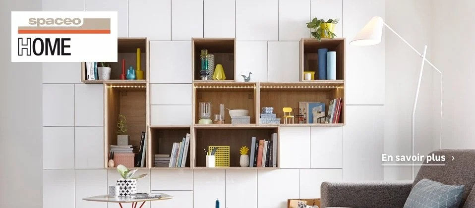 Dressing Meuble De Rangement Et Bibliothque Spaceo Home