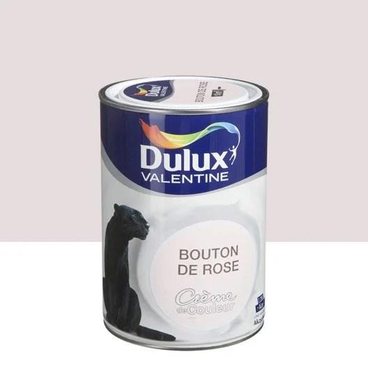 Peinture Bouton De Rose DULUX VALENTINE Crme De Couleur 1