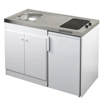 Cool Kitchenette Blanc Spring H X L X P Cm With Lave Linge