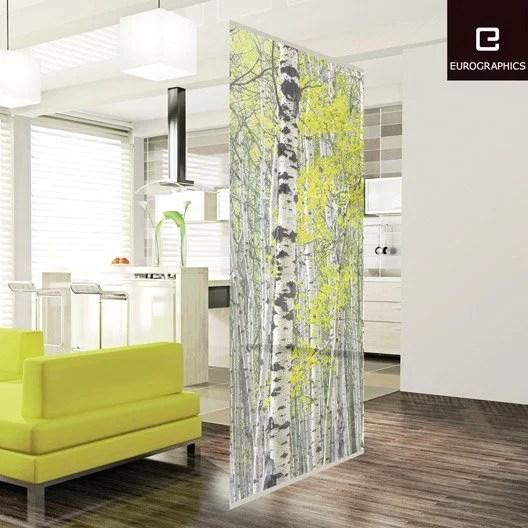 Cloison Dcorative Silver Birch Forest DECO HOME L100 X H