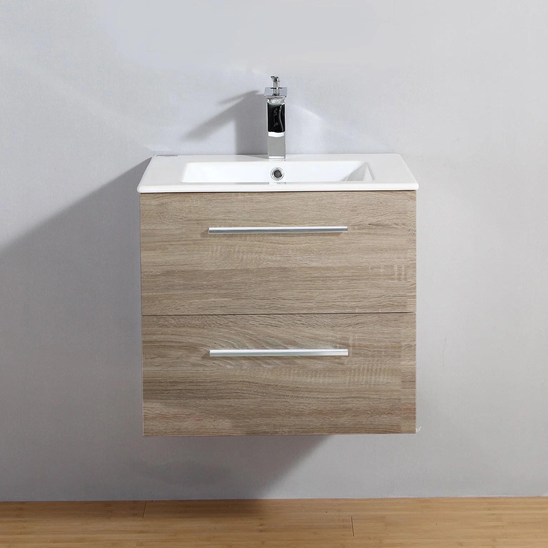 meuble salle de bain 60 cm bois