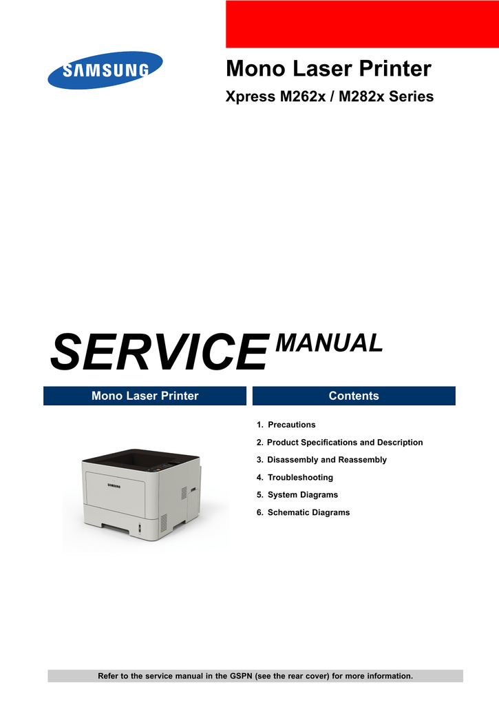Free samsung printer m262x 282x driver Download - samsung