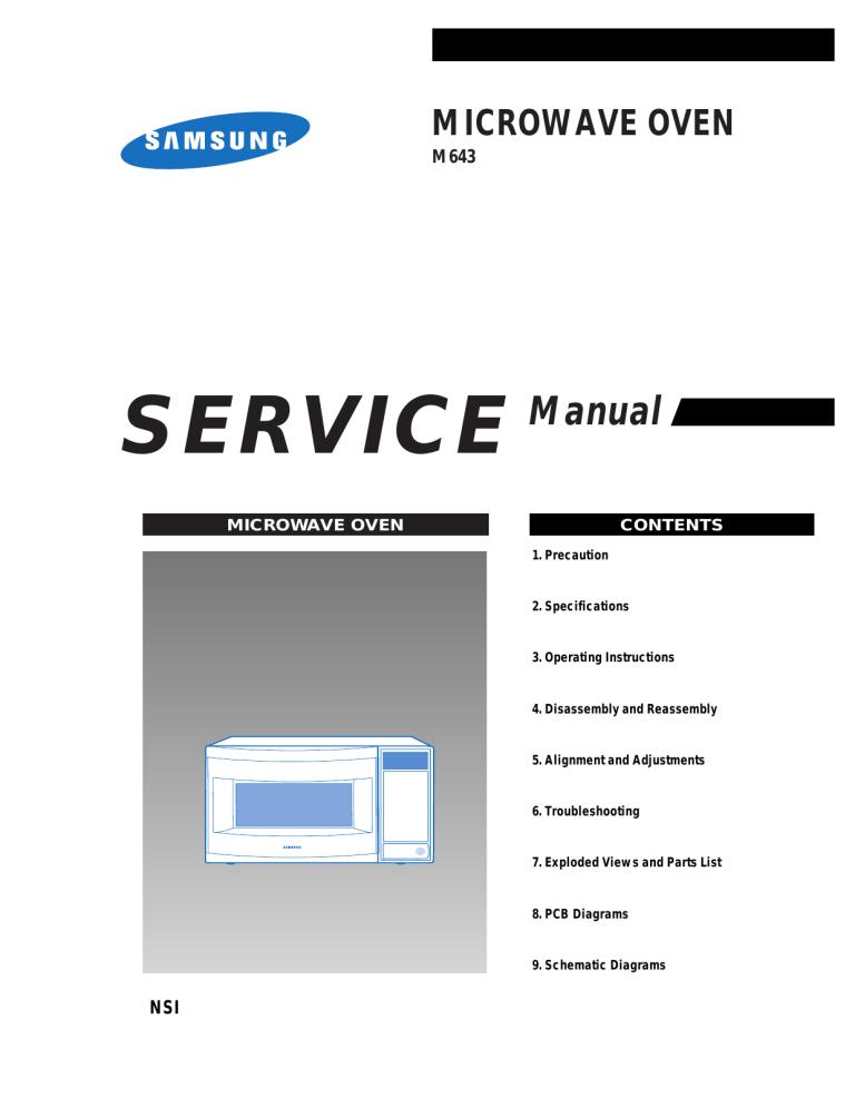samsung m643 service manual manualzz