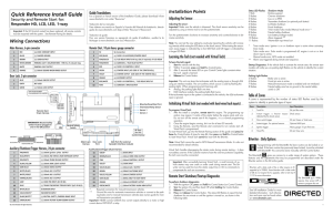Viper 5606V Install guide