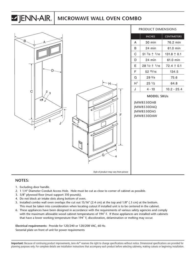 jenn air jmw2430wp00 microwave oven