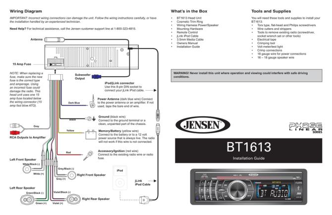 jensen vm9313 wiring diagram  cat5 568a wiring diagram
