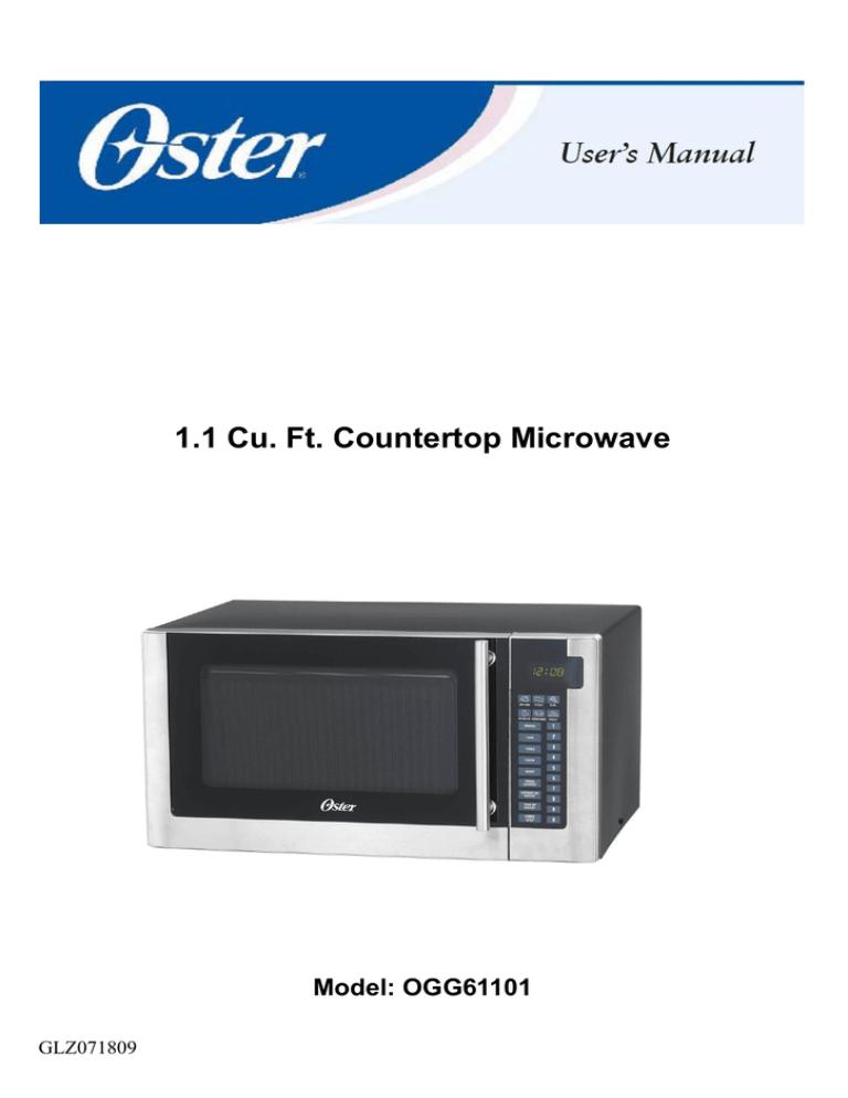 oster ogg61101 manualzz
