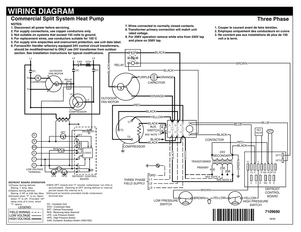 Wiring Diagram Split System Heat Pump