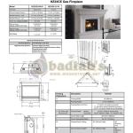 Regency Hz33ce Contemporary Direct Vent Gas Fireplace